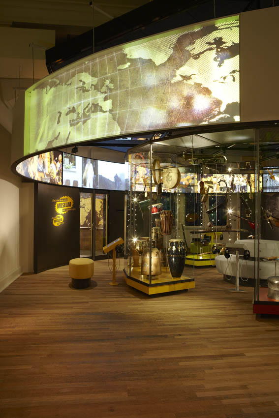 KIT Tropenmuseum glasvezelverlichting-