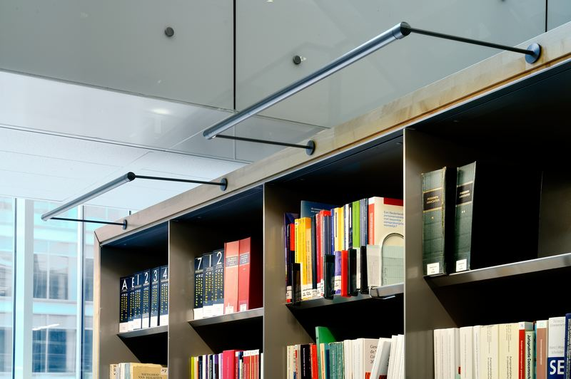 Q-CAT Lighting - Roblon Houthoff Buruma Amsterdam bibliotheek XPO-led-